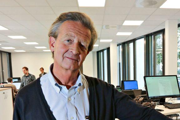 Hans Geelmuyden mener bokmessen i Frankfurt er viktigere enn toppmøtet i Davos