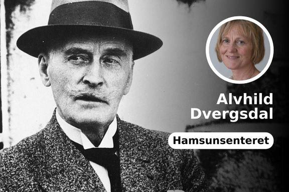Hvorfor feires ikke Hamsun mer i Norge? Svaret er Hamsuns politiske rolle og standpunkt.