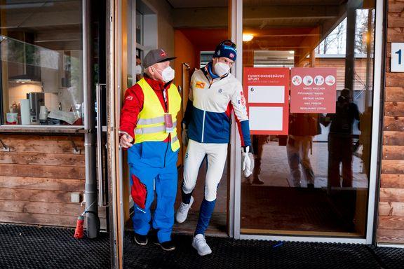 Skuffet Klæbo ga kompisene klar beskjed på VM-festen