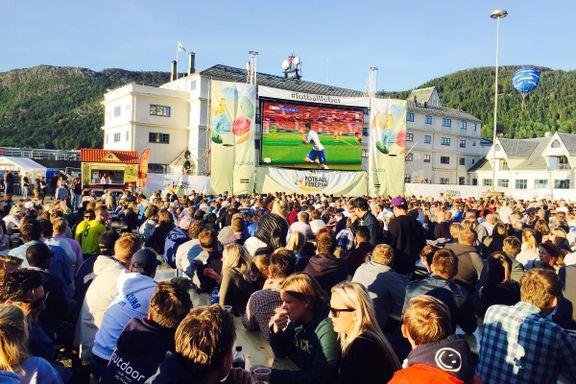 Skal du se VM utendørs på storskjerm? Her finner du stedene