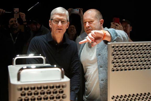 Apples sjefsdesigner starter eget selskap