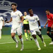 scoret «hat trick» mot barndomsklubben for Real Madrid