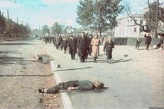 Her ble 33.000 drept i løpet av to dager. Massakren overbeviste nazistene om at det var mulig å utrydde Europas jøder.