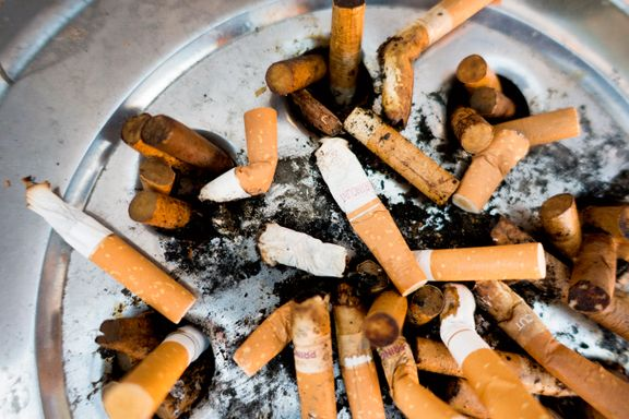 Sterk økning i antallet som stumper røyken