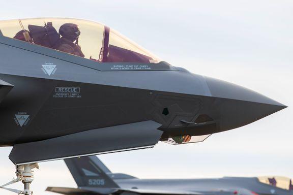 Krever åpenhet om svakhetene rundt norske F-35 kampfly