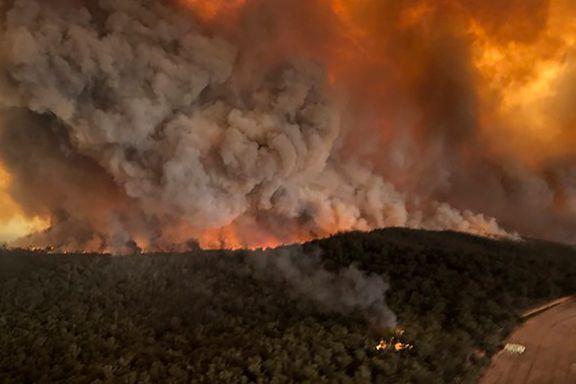 Store klimautslipp fra Australias branner