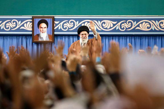 Irans leder under møte med militære: – Knus opprøret, koste hva det koste vil