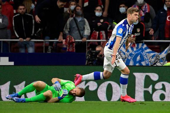 Sørloth scoret sitt første mål for Real Sociedad: Tabelltopp etter uavgjort i toppkamp