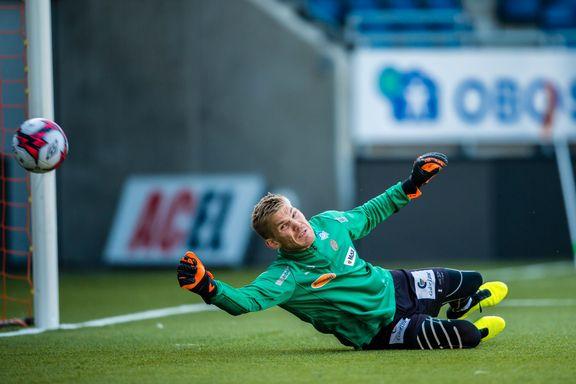Har sluppet inn 13 mål på tre kamper: Lie får fornyet tillit i AaFK-målet