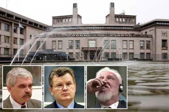 Tre krigsforbrytere fra det tidligere Jugoslavia har tatt sitt eget liv i Haag