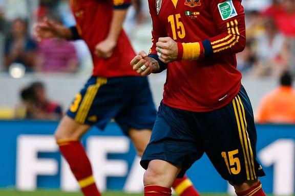 Spanske superstjerner hengt ut som partyløver
