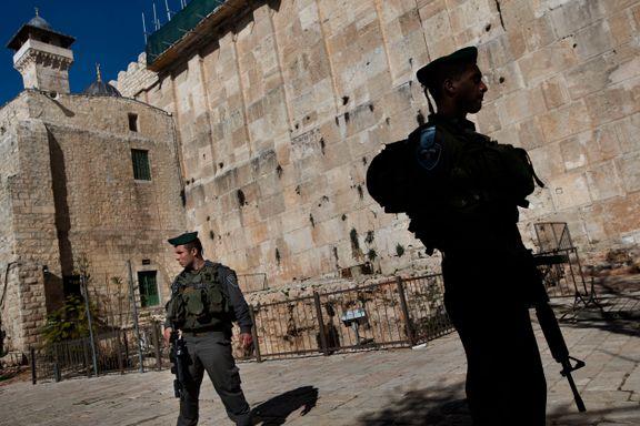 UNESCO erklærer Hebron som et verdensarvsted