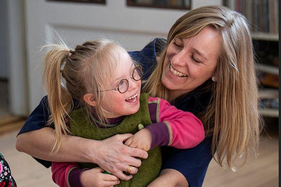 Hun glemmer aldri det som ble sagt da hun fikk vite om datterens syndrom