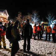 Fire savnet etter skred - funnet skispor inn, men ikke ut: – Det er et dårlig tegn