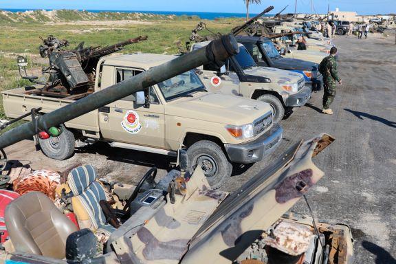 FN frykter flyktningstrøm fra Tripoli