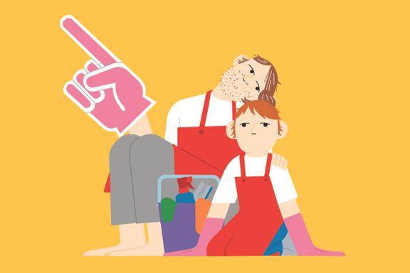 Sliter du med å få barna til å gjøre husarbeid? Her er psykologens syv beste råd.