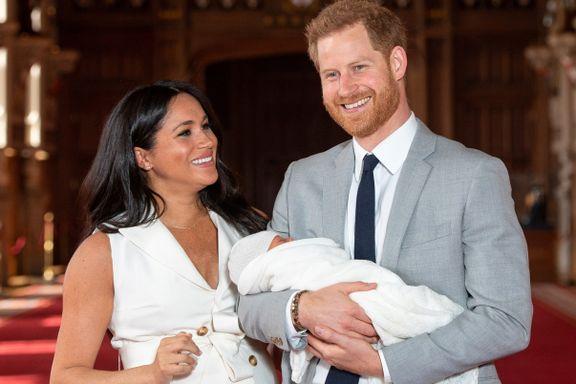 Harry og Meghan røpet navnet på sin nyfødte sønn