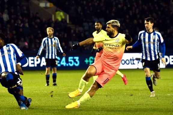 Agüero sendte cupspesialist Manchester City til kvartfinale