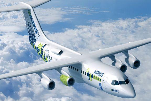 Rolls-Royce og Widerøe skal gjøre utslippsfrie fly lønnsomt