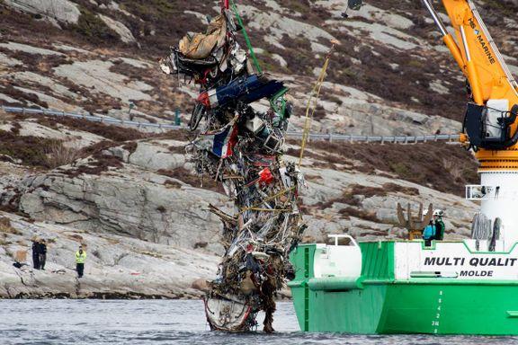 Havarikommisjonen: Tretthetsbrudd årsak til helikopterulykken på Turøy