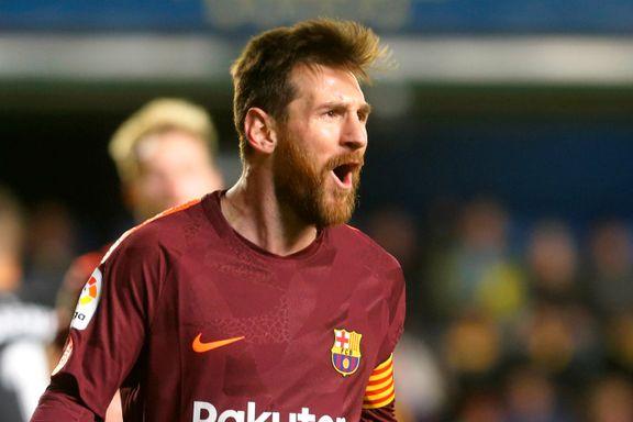 Messi tangerte legendarisk rekord da Barcelona-stjernene fikset seier
