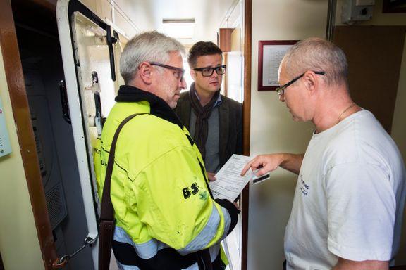 Tjener 33 kroner timen på norsk båt