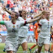 USA herjer med Nederland