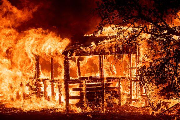 Trump erklærer unntakstilstand i skogbrannherjede California