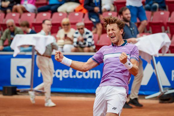 Casper Ruud vant Swedish Open etter maktdemonstrasjon