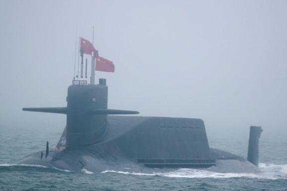 Pentagon frykter kinesisk opprustning med ubåter i Arktis