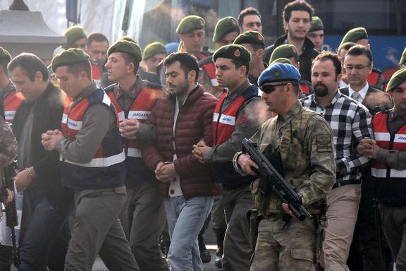 330 tiltalt i samme rettssak etter kuppforsøket i Tyrkia