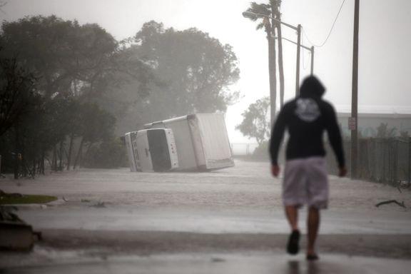 Irma avtar i styrke, men nesten 6 millioner husstander er nå strømløse