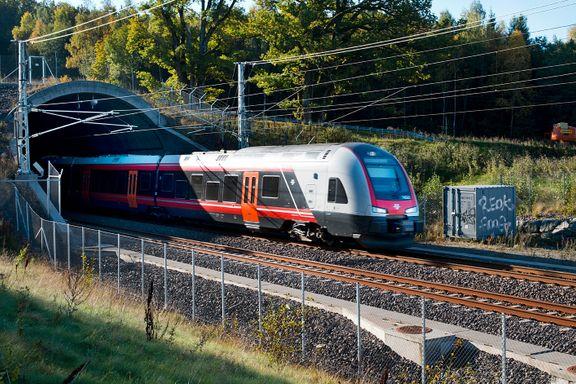 Vestfoldbanen rykker fra Østfoldbanen i togutbyggingen på Østlandet