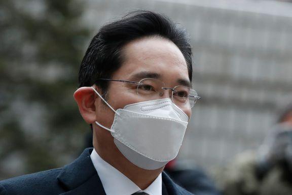 Samsung-topp dømt til fengsel i korrupsjonsskandale