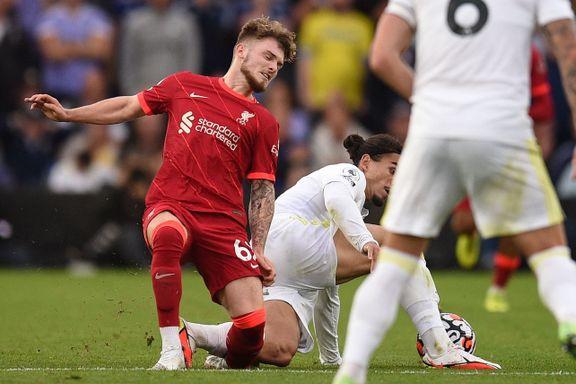 Skadet Liverpool-Elliot: Uenig i rødt kort-straff