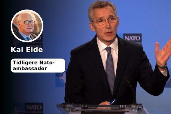 Nato skal i tenkeboksen. Det bør bli historisk!