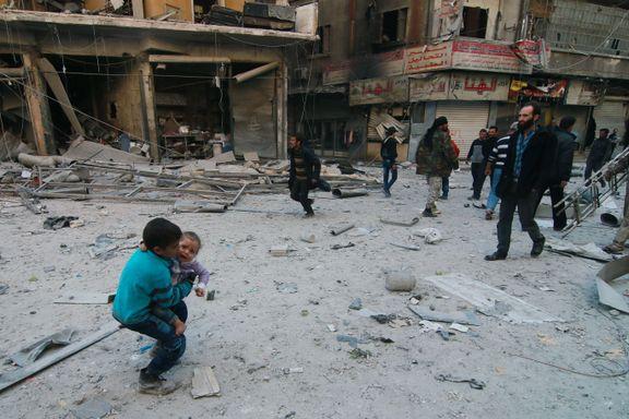 – Flyangrep mot barnesykehus i Aleppo