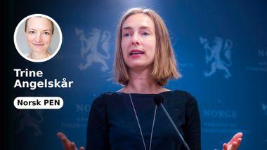 Frihandel med Kina vil svekke Norges ytringsfrihet