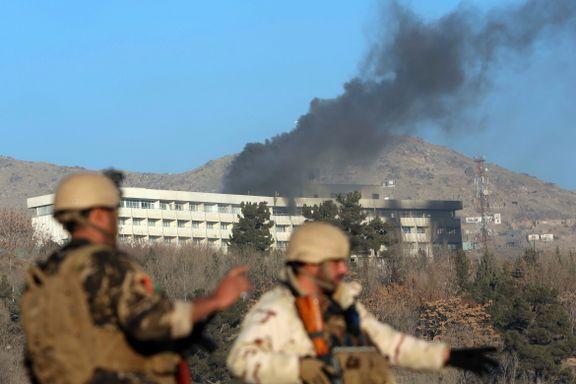 Minst 20 drept i Kabul-angrepet