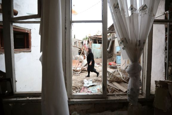 Halve Nagorno-Karabakhs befolkning skal være drevet på flukt