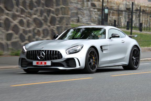 Prøvekjøring av Mercedes-AMG GT R: Denne gir seg ikke før hastigheten er oppe i 318 kilometer i timen