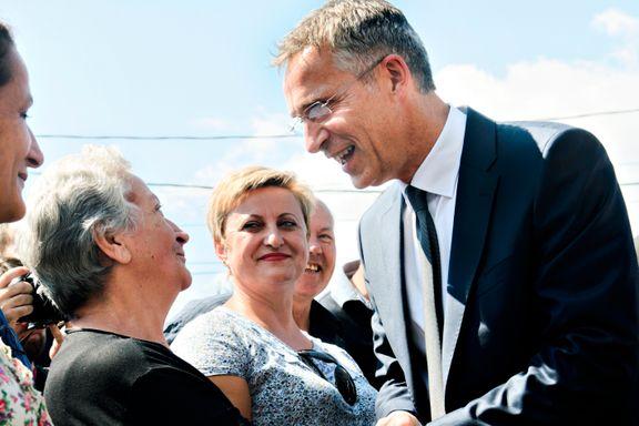 NATO-sjefens sjarmoffensiv i Makedonia hjalp ikke: Klart flertall for navneendring, men oppmøtet var for lavt