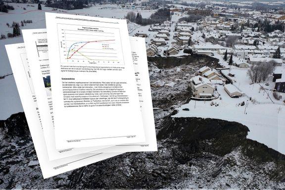 Det var stor bekymring for leirskred på Gjerdrum. Også i kommunen.