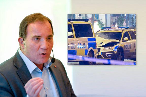 Sveriges statsminister utelukker ikke å sette inn militæret mot gjengkriminaliteten