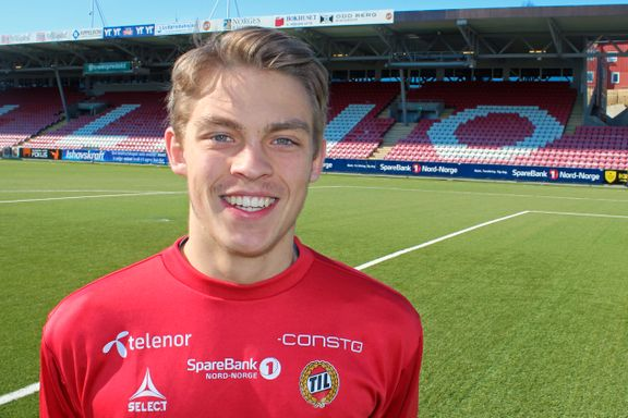 Han har spilt 18 landskamper. Nå er Patrik (18) klar for ny klubb