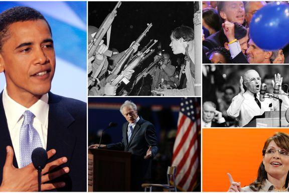 Syv høydepunkter fra amerikanske landsmøter