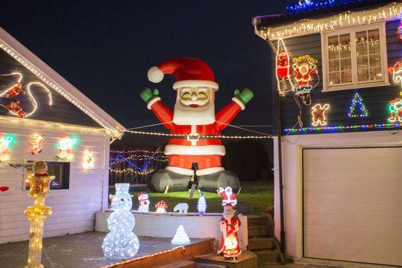 Men hva gjør du når naboens julepynt tar helt av?