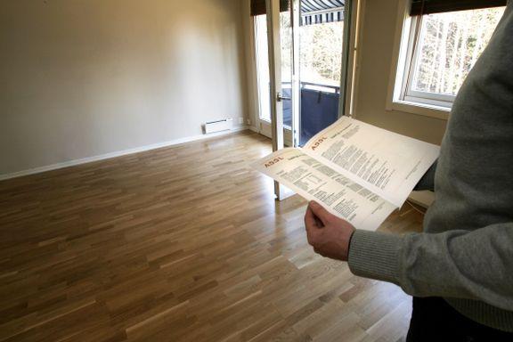 «Det er ikke blitt lettere for folk å etablere seg i boligmarkedet selv om både leilighetsarealet er gått ned og utnyttelsen opp»