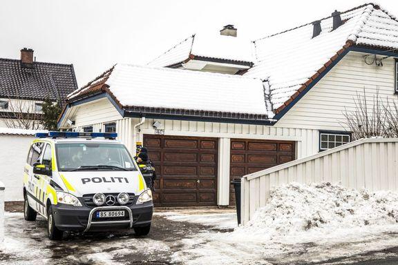 NRK: Justisministerens ytterdør åpen i forkant av branntilløpet