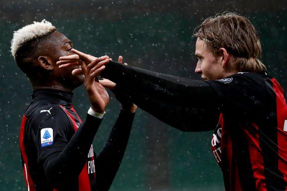 Norsk stjerneskudd fikk Milan-debuten. Så løsnet det for storklubben.